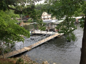 The boat dock